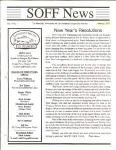 Icon of 2002 SOFF Newsletters