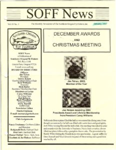 Icon of 2003 SOFF Newsletters