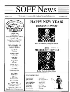 Icon of 2005 SOFF Newsletters